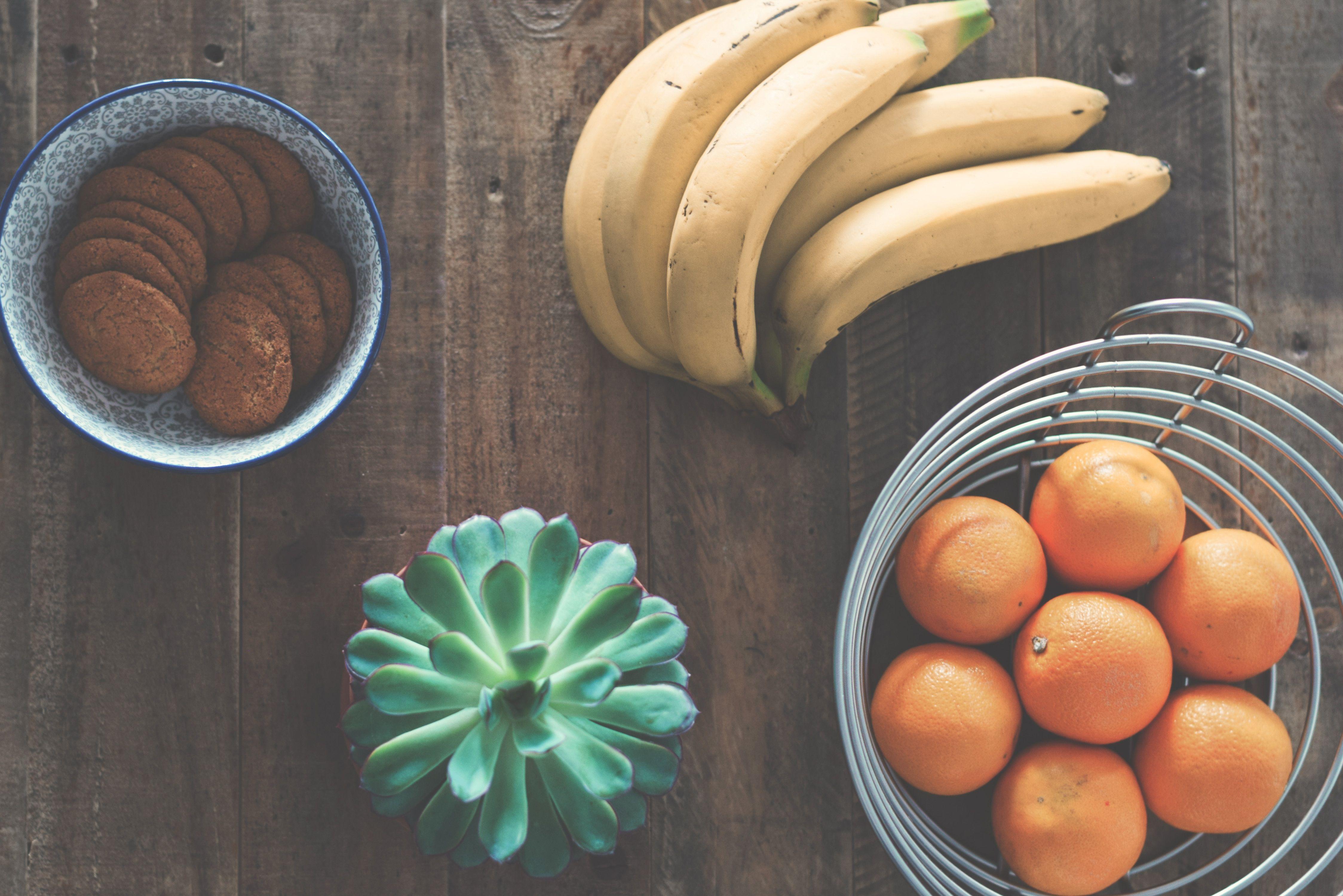 banan-frukt-kjøkken