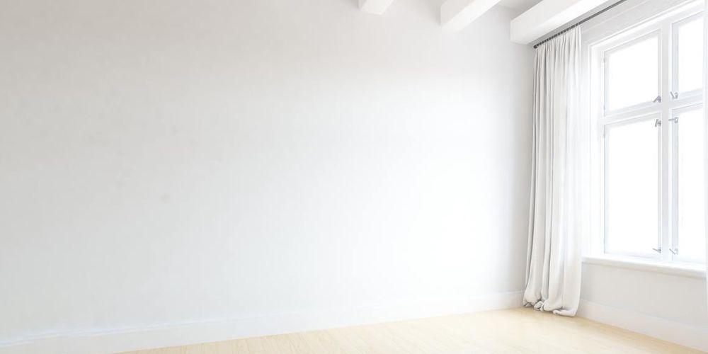 Et helt tomt rom