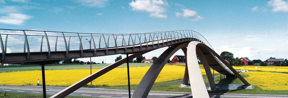 Leonardo da Vinci-broen i Ås