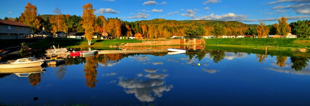 Hokksund i Øvre Eiker kommune har flere eiendomsmeglere