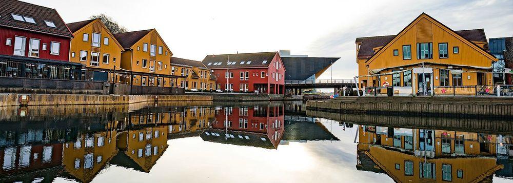 Havna, hus og leiligheter i Kristiansand