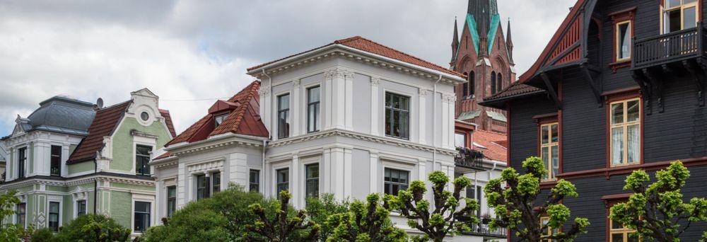 Tjuvholmen på Aker Brygge i bydel Frogner