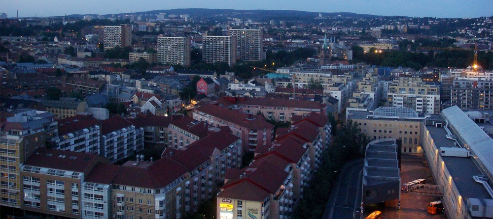 Grønland sett fra Oslo Plaza