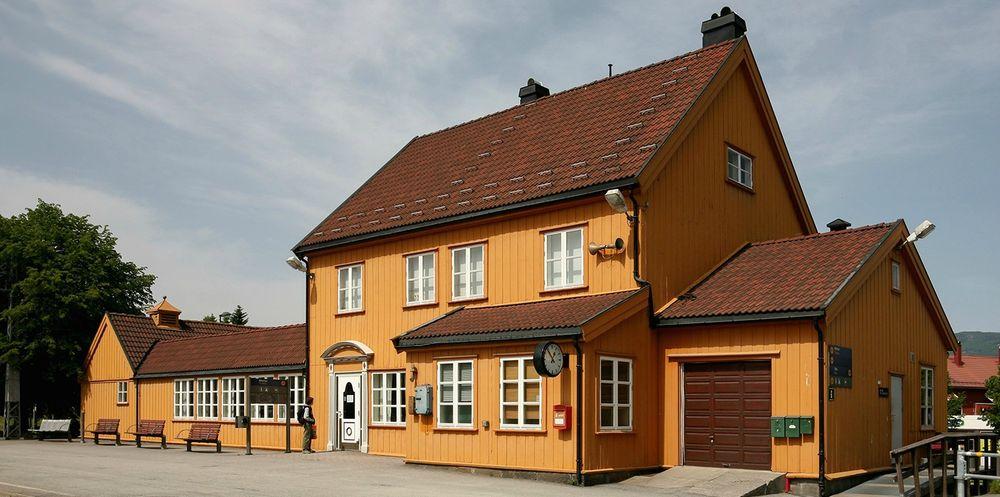 Stasjonsbygningen i Bø i Telemark.
