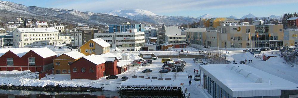 Havneområdet i Finnsnes