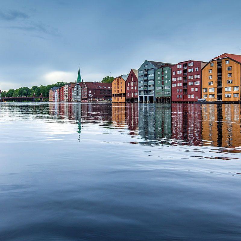Bilde fra Trondheim