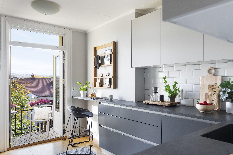 Bilde av kjøkkenet til Øverbye