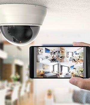 Övervakningskamera med mobilapp