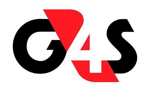 Det före detta larmföretaget G4S logotyp