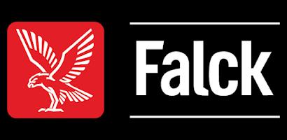 Det före detta larmbolaget Falcks logotyp