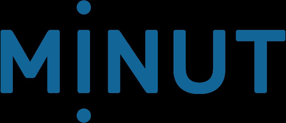 Larmbolaget Minuts logotyp