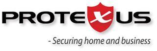 Larmbolaget Protexus logotyp