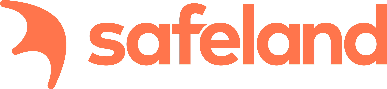 Larmbolaget Safelands logotyp