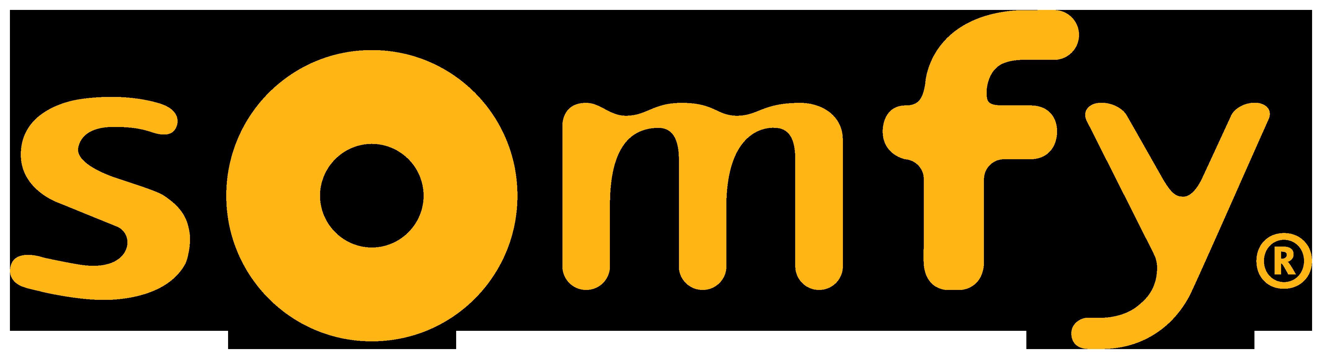 Larmbolaget Somfys logotyp