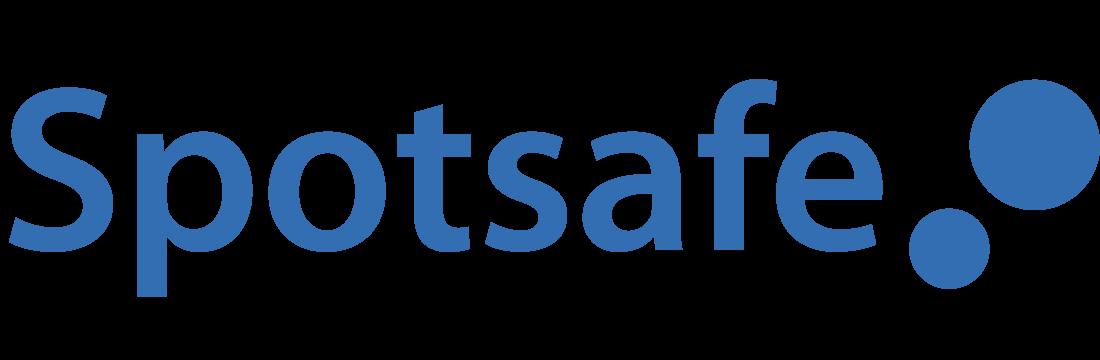Larmbolaget Spotsafes logotyp