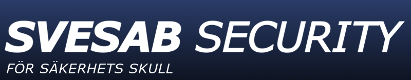 Larmbolaget Svesab Securitys logotyp