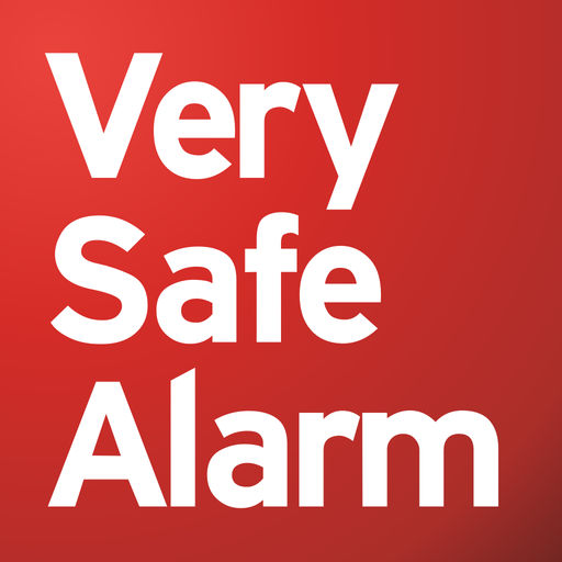 Larmbolaget Very Safe Alarms logotyp