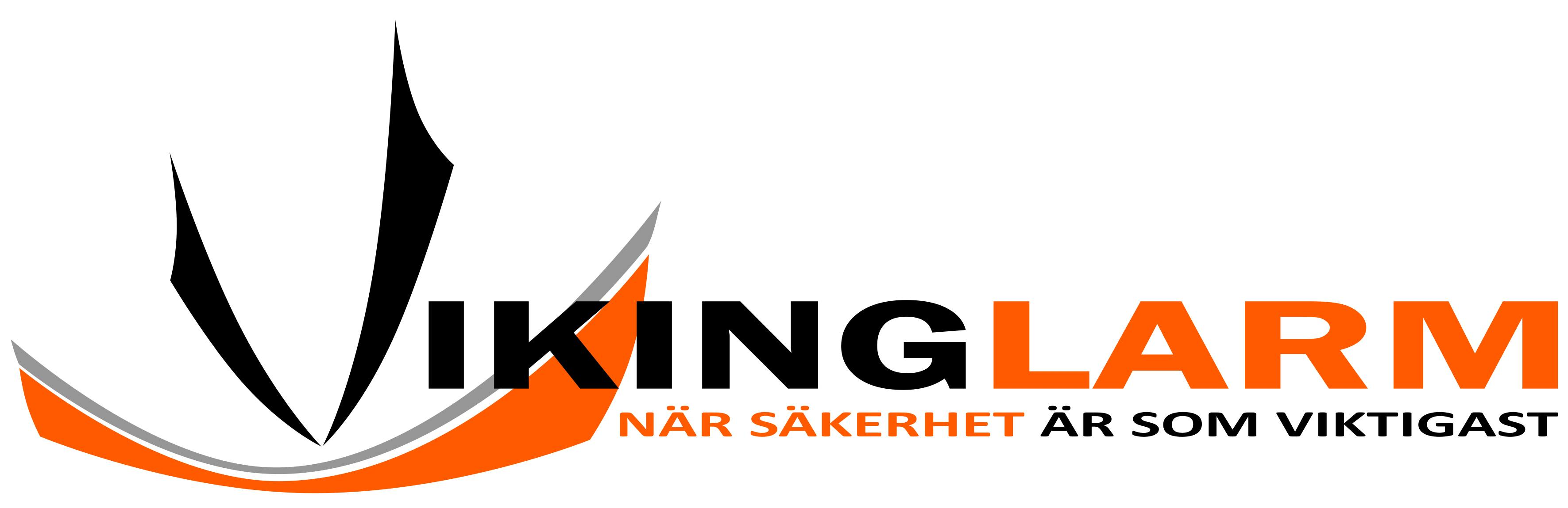 Larmbolaget Vikinglarms logotyp