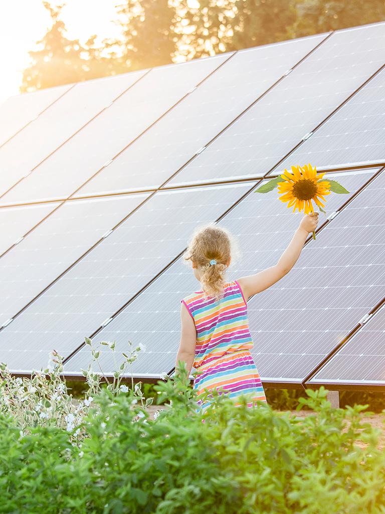 Energía fotovoltaica.