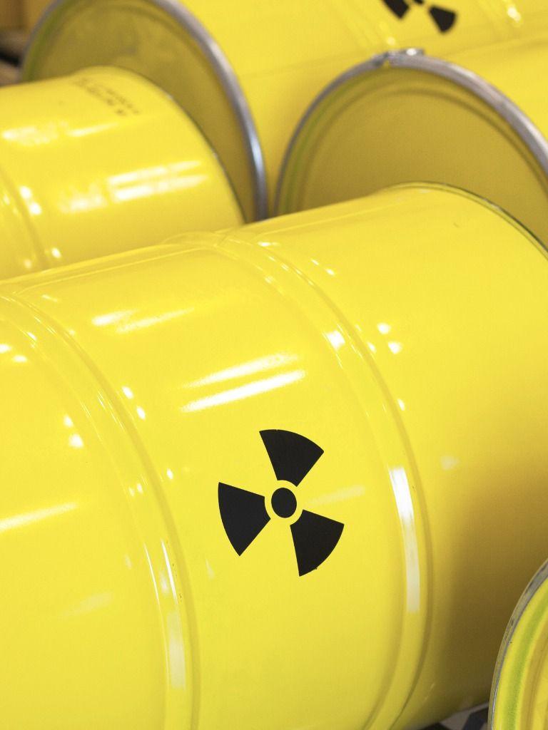 Barriles de residuos radioactivos