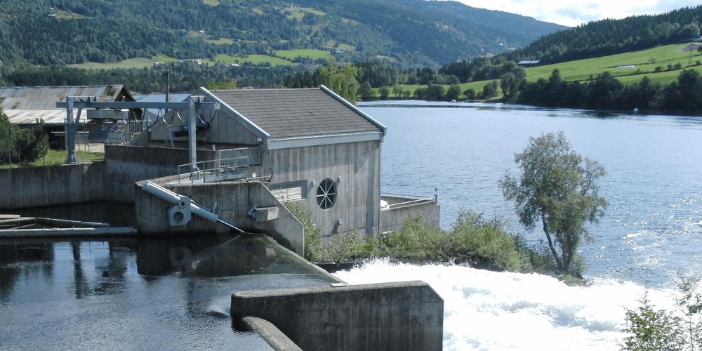 Fossheimfoss Kraftverk i Oppland
