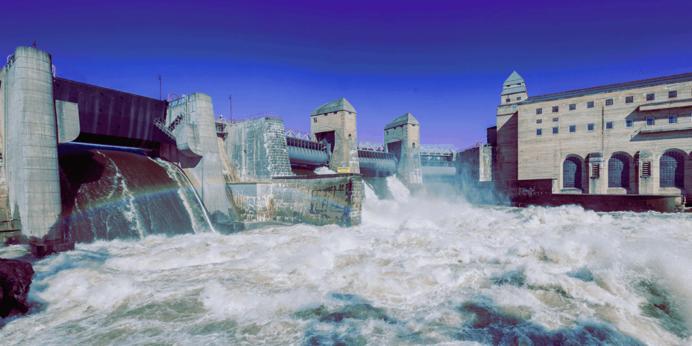 Hydroelektrisk vassdrag i Norge