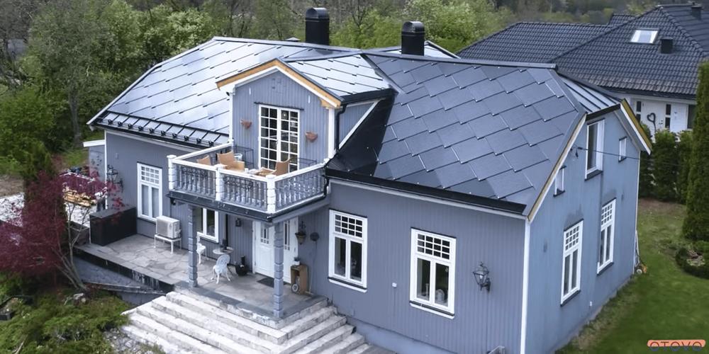 Solcelletakstein «Suntyle» fra Otovo