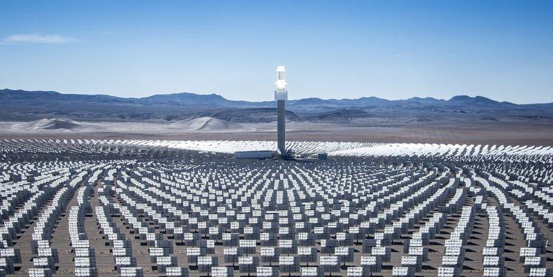 Solfanger er termisk solkraft