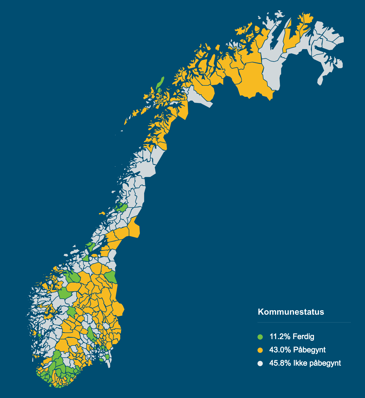 Strømmåler kart