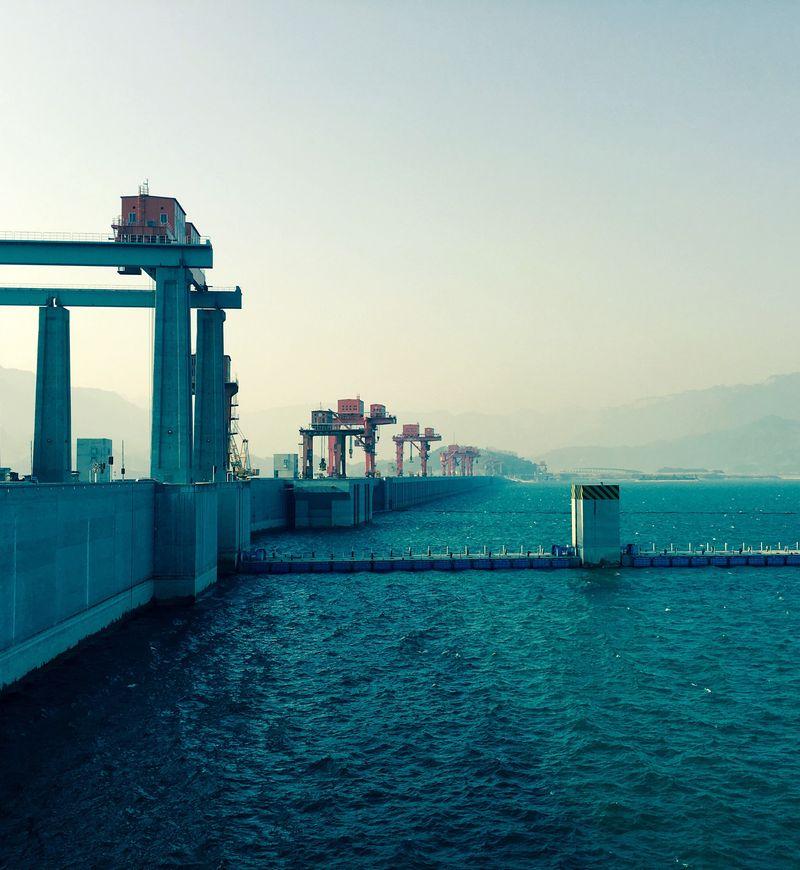 Vannkraft: Tre kløfters demning, Kina.