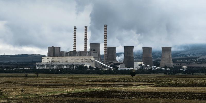 Bilde av et kjernekraftverk