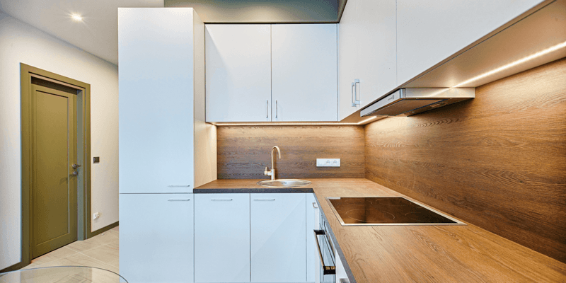 Bilde av et kjøkken for å illustrere normale strømposter