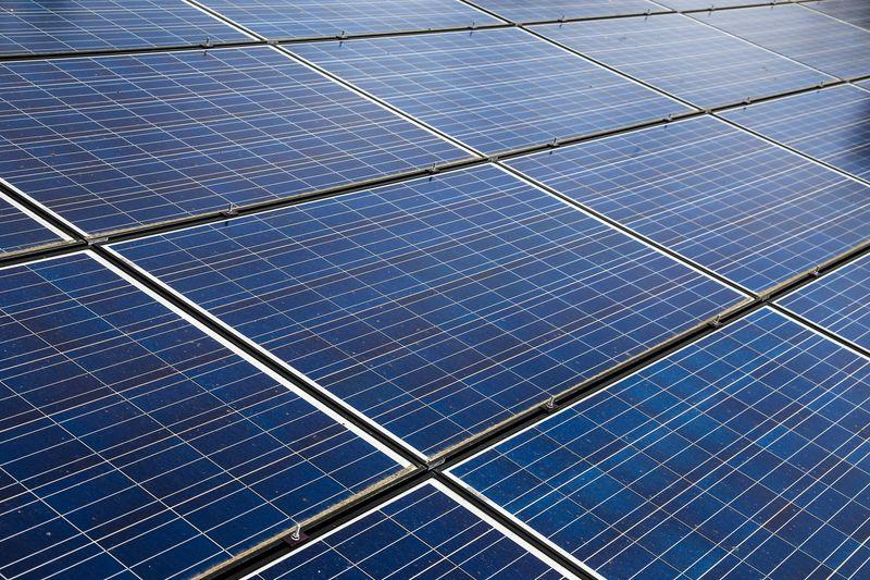 Bilde av solceller