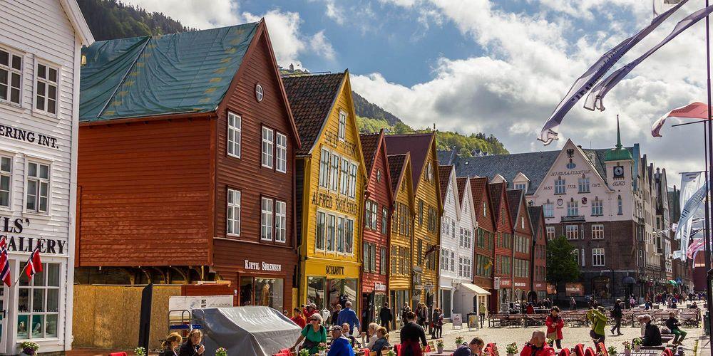 Bergen, strøm