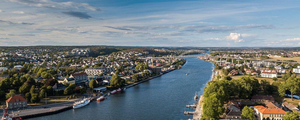 Fredrikstad, strøm